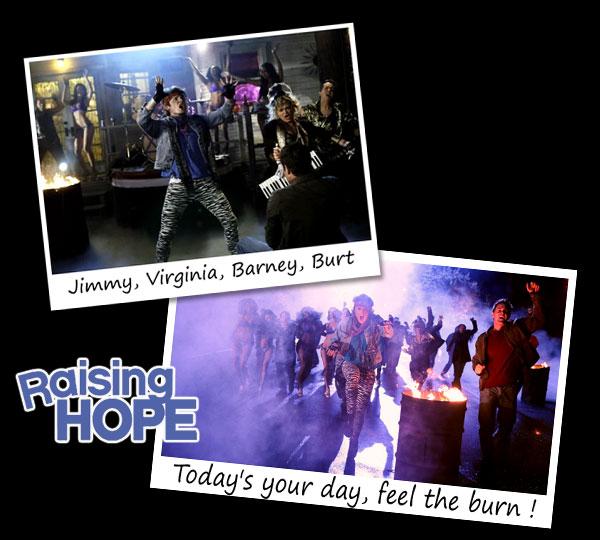 Raising Hope - Burt Mitzvah - The Musical - Raising Hope - Burt Mitzvah (Saison 3 épisode 21)