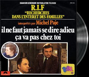 Recherche dans l'intérêt des familles - Main title - Recherche dans l'intérêt des familles - Générique