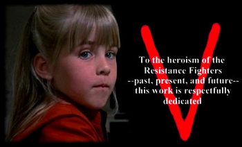 V - The Original Mini Series Part I - End title - V - Mini-série 1 - Générique de fin