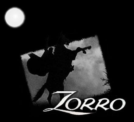 Zorro (1957) - End title - Zorro (1957) - Générique de fin