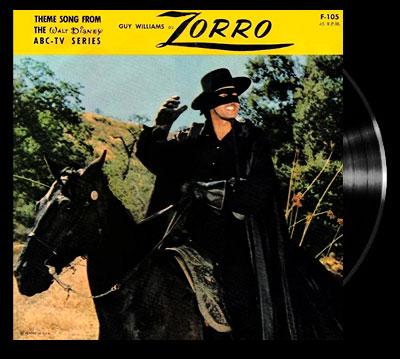 Zorro (1957) - Main title - Zorro (1957) - Générique VO