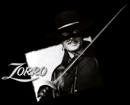 Zorro (1957) - French main title - Zorro (1957) -  Générique VF