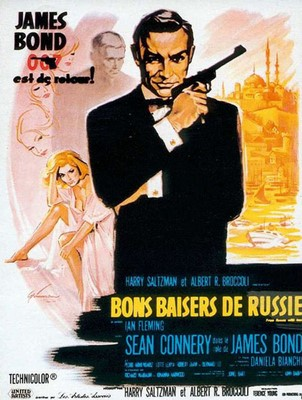 - Opening Titles: James Bond Is Back - From Russia With Love - James Bond Theme