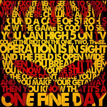 - One fine day